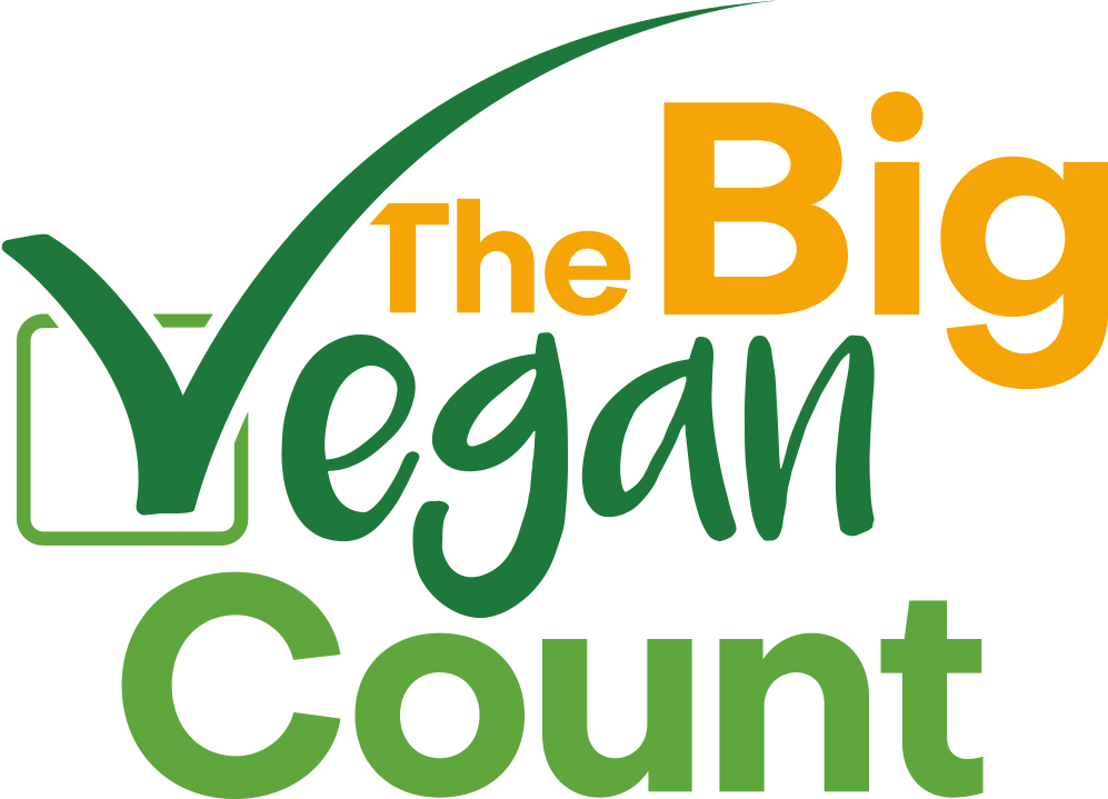 The Big Vegan Count Logo